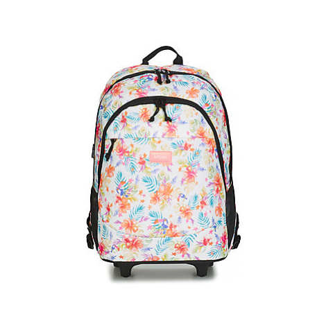 Rip Curl WH PROSCHOOL TOUCAN FLORA girls's Children's Rucksack in White