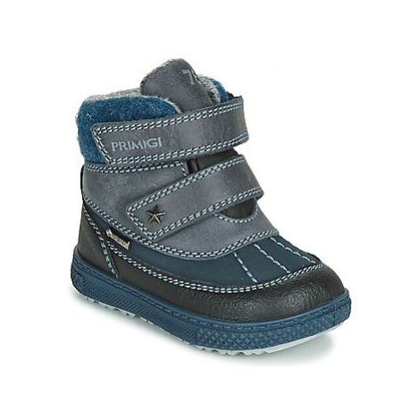 Primigi PEPYS GORE-TEX boys's Children's Mid Boots in Blue