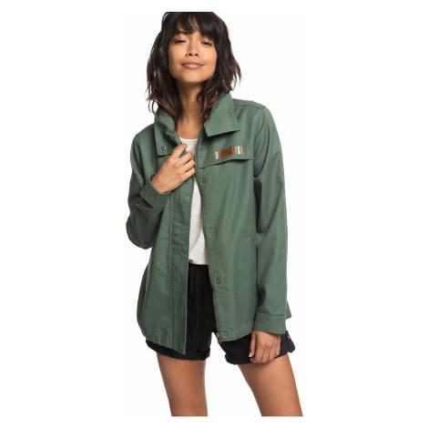 jacket Roxy Freedom Fall - GPL0/Duck Green - women´s