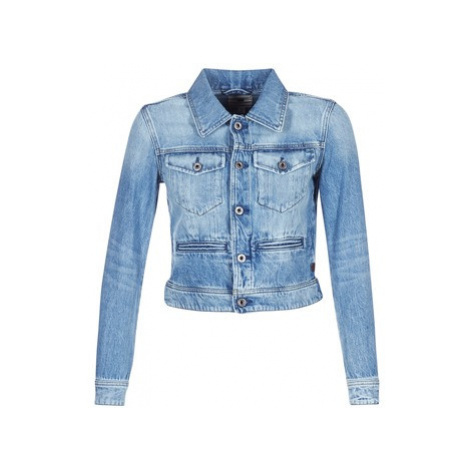 G-Star Raw D-STAQ DC DNM JKT WMN women's Denim jacket in Blue