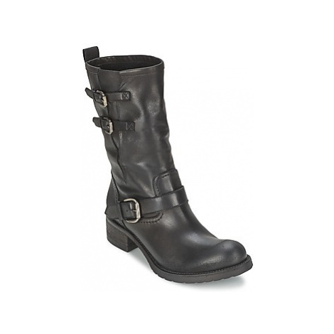 JFK GUANTP women's Mid Boots in Black