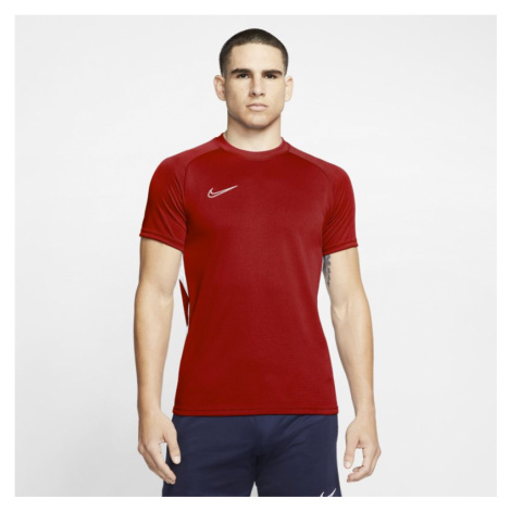 Nike Dri-FIT Academy Men's Football Short-Sleeve Top - Red