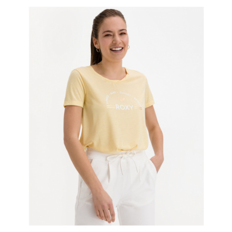 Roxy Chasing The Swell T-shirt Yellow