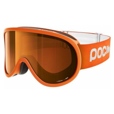 POC POCITO RETINA SLUORESCENT orange - Kids' ski goggles