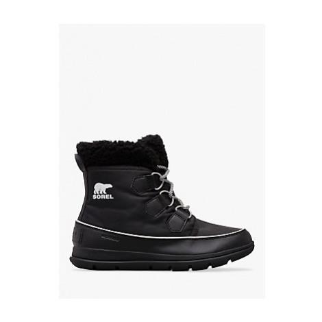 Sorel Explorer Carnival Snow Boots, Black