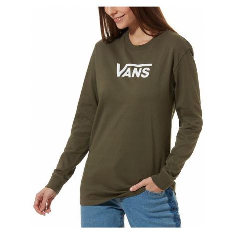 T-Shirt Vans Flying V Classic LS - Grape Leaf - women´s