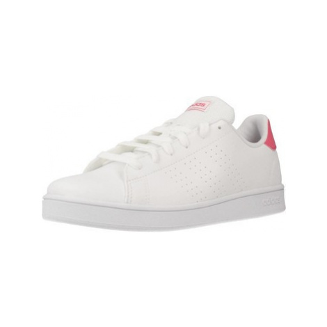 Adidas ADVANTAGE K women's Shoes (Trainers) in White