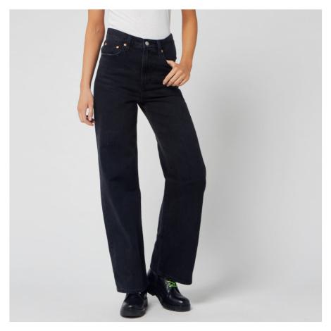 Levi's Women's Ribcage Wide Leg Jeans - Black Book Levi´s