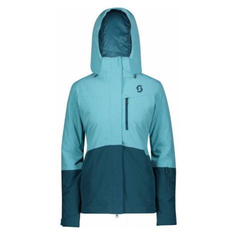Scott ULTIMATE DRYO 10 W blue - Women's ski jacket