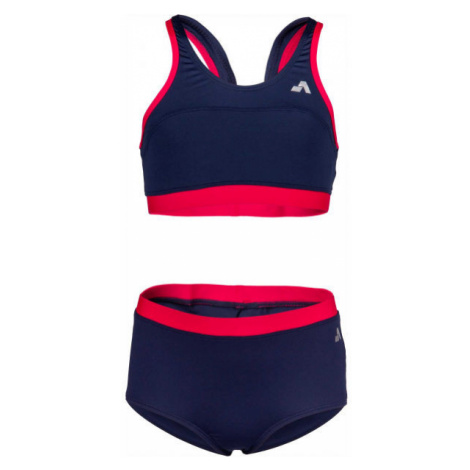 Aress RAVENA dark blue - Girls' two-piece swimsuit