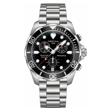 Mens Certina DS Action Precidrive Chronograph Watch C0324171105100