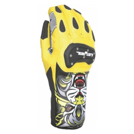 Level RACE SPEED yellow - Racing ski gloves