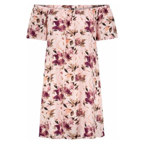 Fresh Made Off-Shoulder Dress Short dress light pink