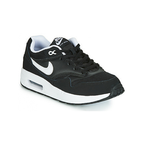 Nike AIR MAX 1 PS girls's Children's Shoes (Trainers) in Black