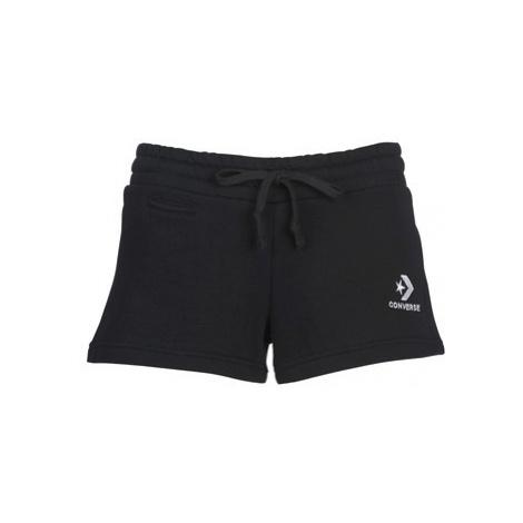 Converse CONVERSE STAR CHEVRON EMB SHORT women's Shorts in Black