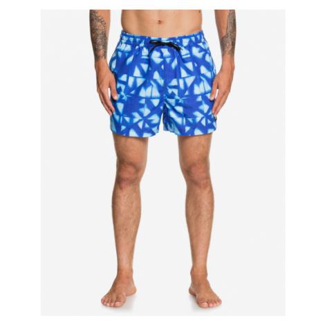 Quiksilver Dye Check Swimsuit Blue