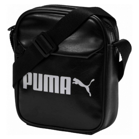 Puma CAMPUS PORTABLE black - Shoulder bag