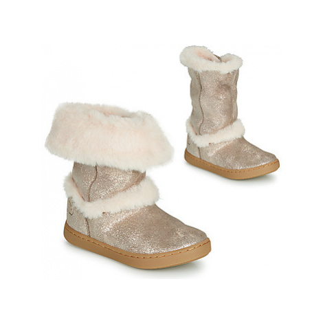 Shoo Pom PLAY MOOT girls's Children's Mid Boots in Silver