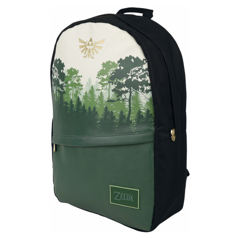 The Legend Of Zelda - Green Forest - Backpack - green-white