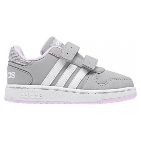 adidas HOOPS 2.0 CMF I white - Children's leisure shoes