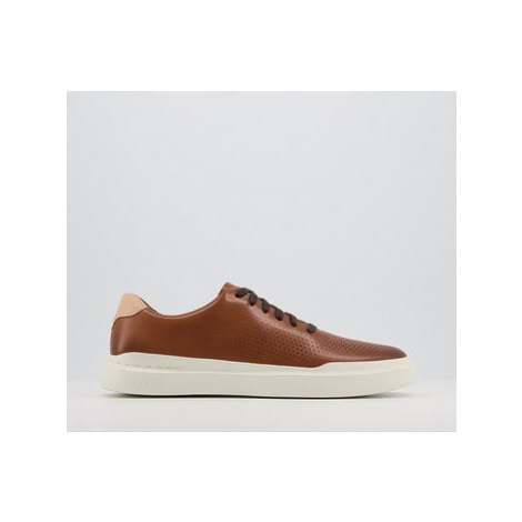 Cole Haan Grand Pro Rally Court Sneakers BRITISH TAN IVORY