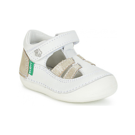 Kickers SUSHY girls's Children's Sandals in White