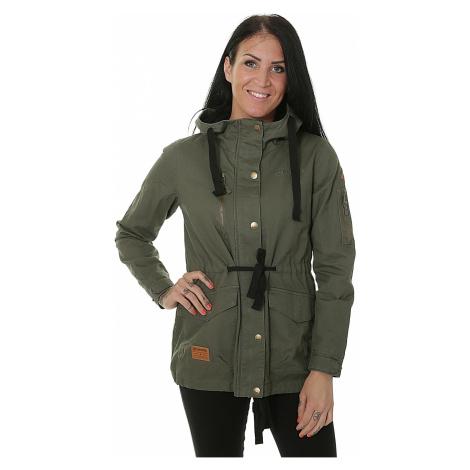 jacket Meatfly Lana - B/Olive