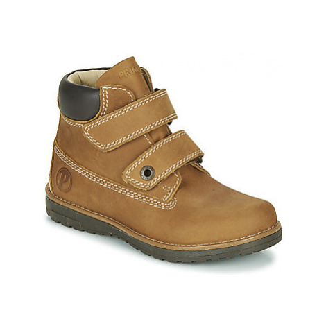 Primigi ASPY 1 boys's Children's Mid Boots in Brown
