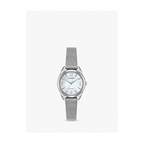 Citizen Women's LTR Eco-Drive Mesh Bracelet Strap Watch