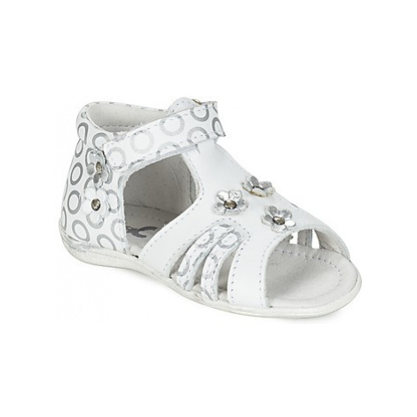 Citrouille et Compagnie BLETOU girls's Children's Sandals in White
