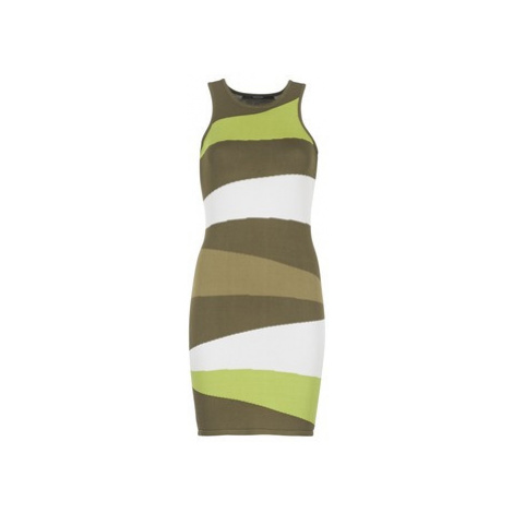 Guess TEOMARC women's Dress in Green
