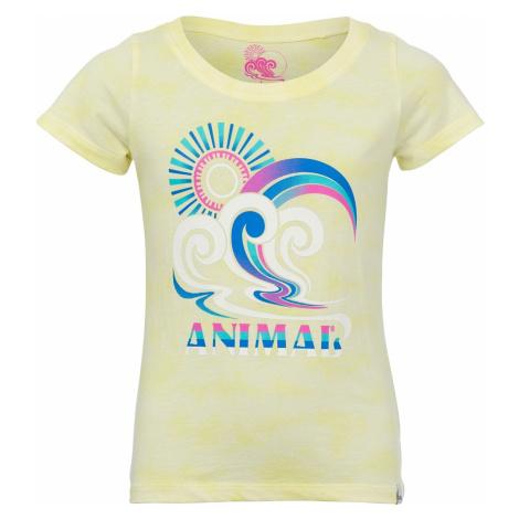 T-Shirt Animal Pop Wave - Sunshine Green