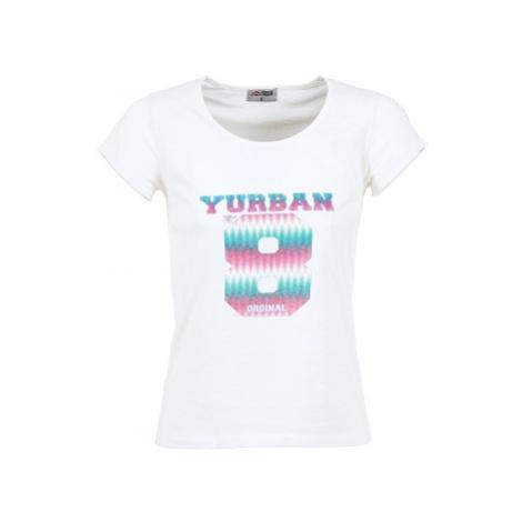 Yurban ERETOLE women's T shirt in White