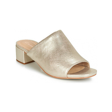 Clarks ORABELLA DAISY women's Mules / Casual Shoes in Silver