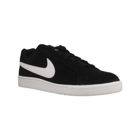 Nike COURT ROYALE SUEDE men's Shoes (Trainers) in Black