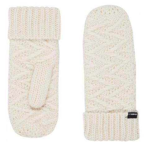 O'Neill BW NORA WOOL MITTENS white 0 - Women's winter gloves