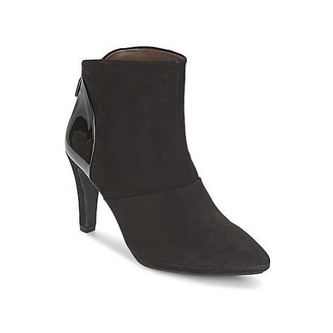 Perlato STEFANIA women's Low Ankle Boots in Black