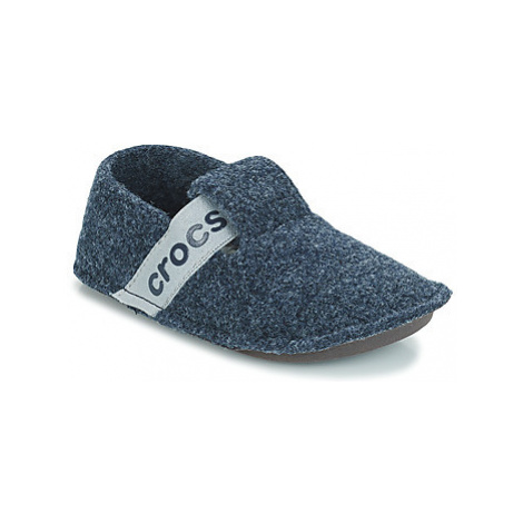 Crocs CLASSIC SLIPPER K girls's Children's Slippers in Blue
