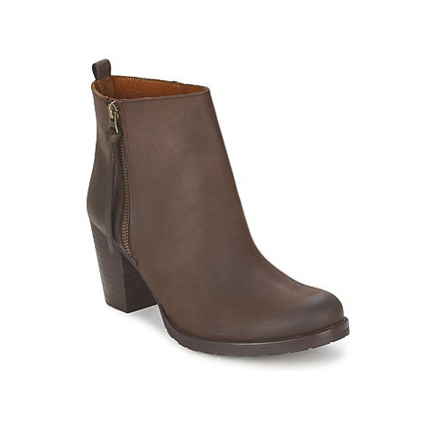 Casual Attitude CORMANOIR women's Low Ankle Boots in Brown