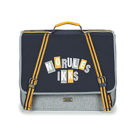 Ikks IKKS KINGS CARTABLE 41 CM boys's Briefcase in Blue