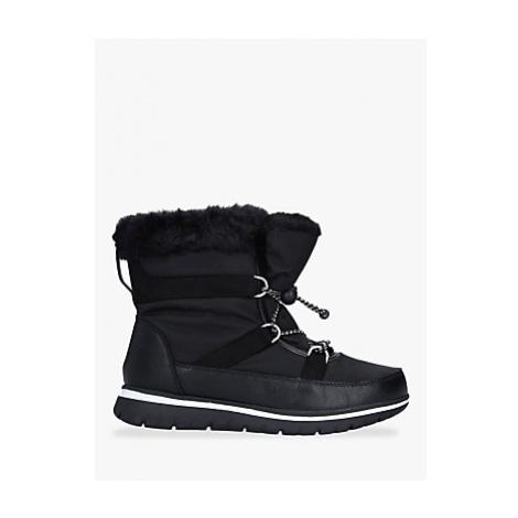 Carvela Comfort Ruby Drawstring Snow Boots, Black