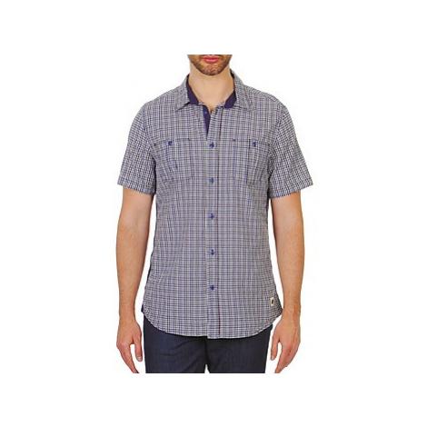 Chevignon MERYL men's Short sleeved Shirt in Blue