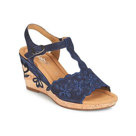 Gabor FIULI women's Sandals in Blue