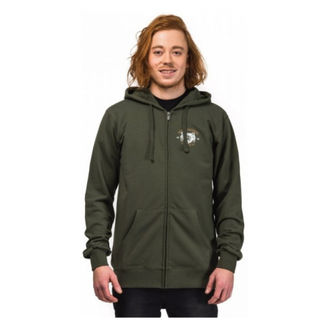 Horsefeathers CALVER SWEATSHIRT green - Men's sweatshirt