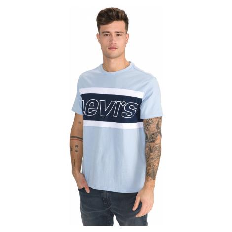 Levi's Colourblock T-shirt Blue Levi´s