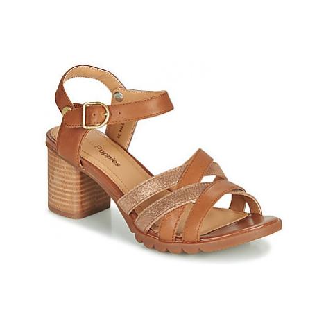 Hush puppies GRIFFON QTR women's Sandals in Brown