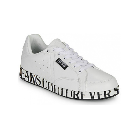 Versace Jeans Couture EOYUBSB8 men's Shoes (Trainers) in White