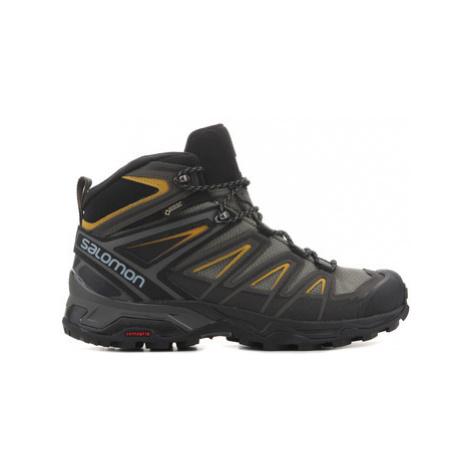 Salomon X Ultra 3 MID GTX 401337 men's Walking Boots in Multicolour