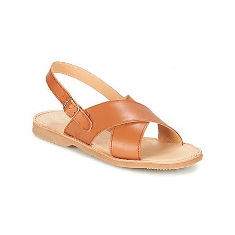 Citrouille et Compagnie GATALOU girls's Children's Sandals in Brown