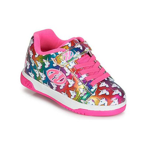 Heelys DUAL UP X2 girls's Children's Roller shoes in Multicolour
